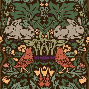 William Morris Bunnies