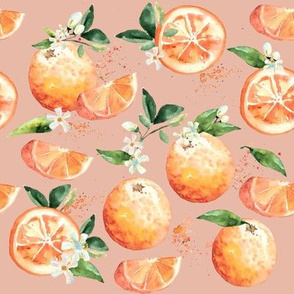 Coastal Orange Blossoms // Salmon Blush