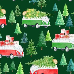 Christmas Vacation // Forest Green