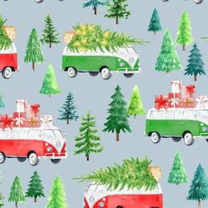 Christmas Vacation // Heather Blue
