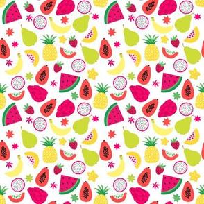 Tutti Frutti Colorful Tropical Fruit