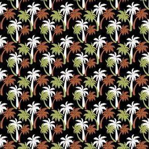 brown palms on black 4x4