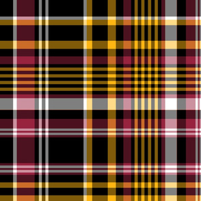 The Black the Yellow and the Red: Large Plaid - 2