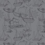 Ships sketch