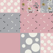 Bees and Polka Dots