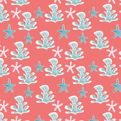 beachy seamless pattern