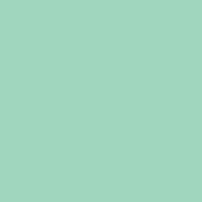 Solid mint green