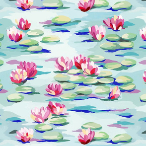 Water Lilies Pond