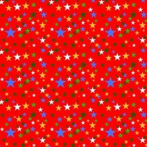 Christmas Stars RWB