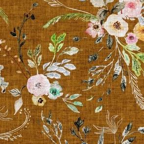 La Boheme Floral (russet) MED