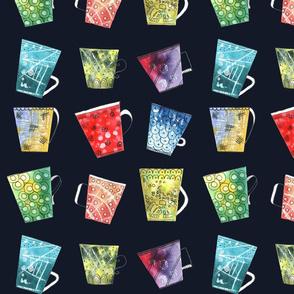 Dancing cups