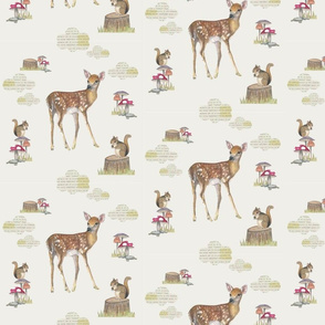 forest animals- bambi