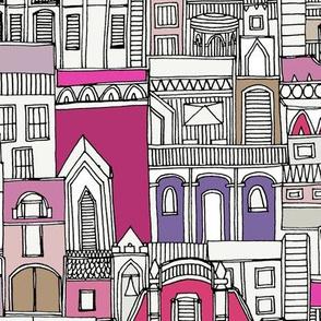 perpetual hillside pink