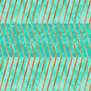 herringbone_turquoise_rust_copper