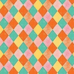 Checkered Diamond Vintage Spring