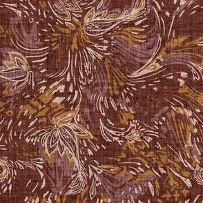 Boheme Tapestry (rust) MED