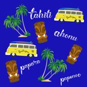 tahiti east cost surfing