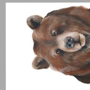 Brown Bear Acyrlic Painting