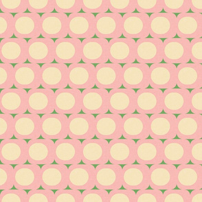 Dots and Triangles Pink