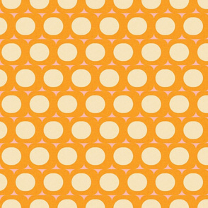 Dots and Triangles Yellow