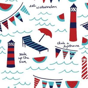 Summer Lighthouses