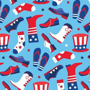Red White & Blue Shoes