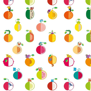 Fruits and Animals