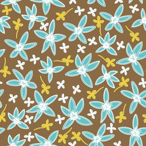 Happy Flowers Collection Complementary Pattern