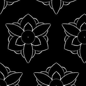 Black petals