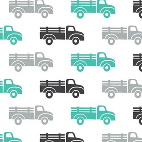 trucks - teal and grey - LAD19