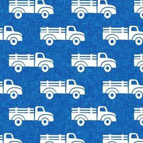 trucks on blue - LAD19