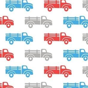 trucks - blue grey red - LAD19