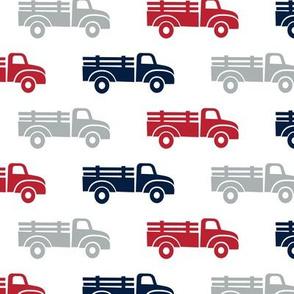 trucks - navy red grey  - LAD19