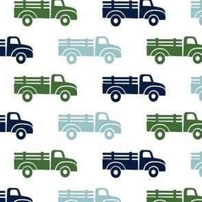 trucks - blue green - LAD19