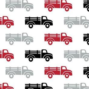 trucks - red black grey - LAD19