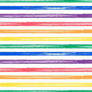 Marker Stripes - rainbow v2 - LAD19BS