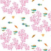 coral reef  LG 105- pink