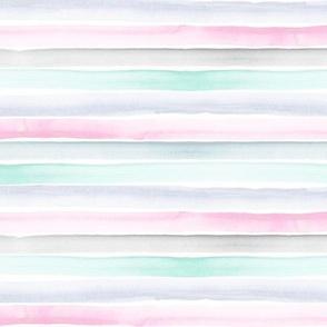 rainbow stripe-pastel S