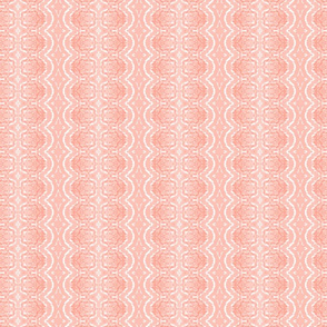 Lace like - salmon pink