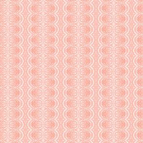 Lace like - salmon pink