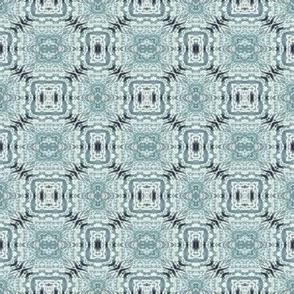Soft Gray Honeycomb