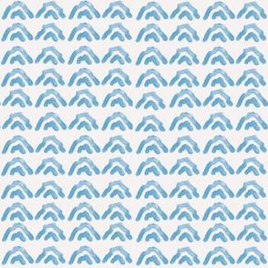 Mountain abstract - Blue
