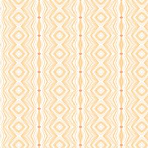 Orange diamond shapes