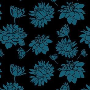 Blooming Dahlia (bteal)