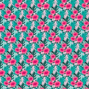 Peony pattern