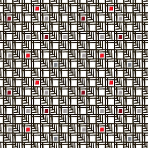 Japanese  black pattern