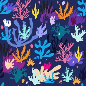 Seaweed pattern