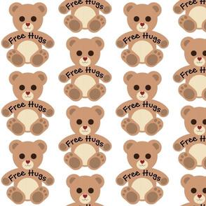 Teddy Bear Free Hugs
