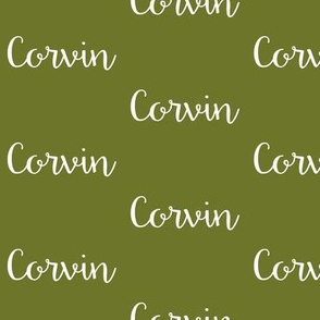 Corvin - Olive Green