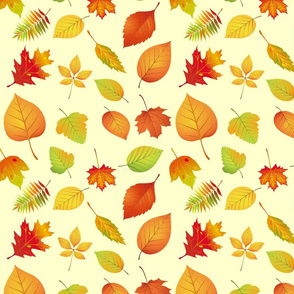 Rustic Autumn Leaves